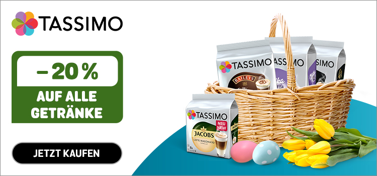 Tassimo - 20% Osterspecial