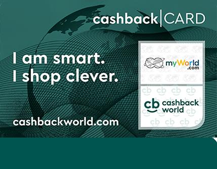 Cashback beim Einkaufen mit CashbackWorld