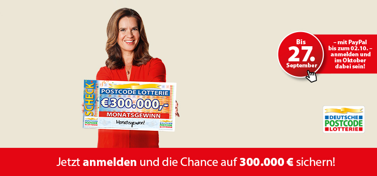 Www Postcode-Lotterie.De