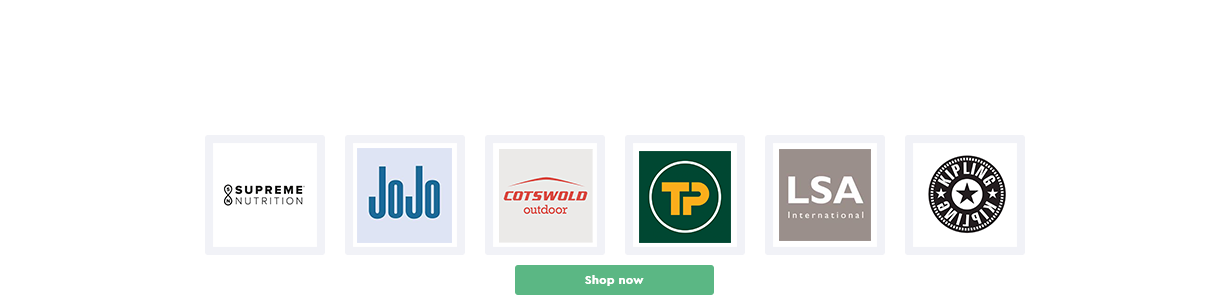New Online Merchants– up to 5% Cashback + 3SP / per 90 GBP Purchase