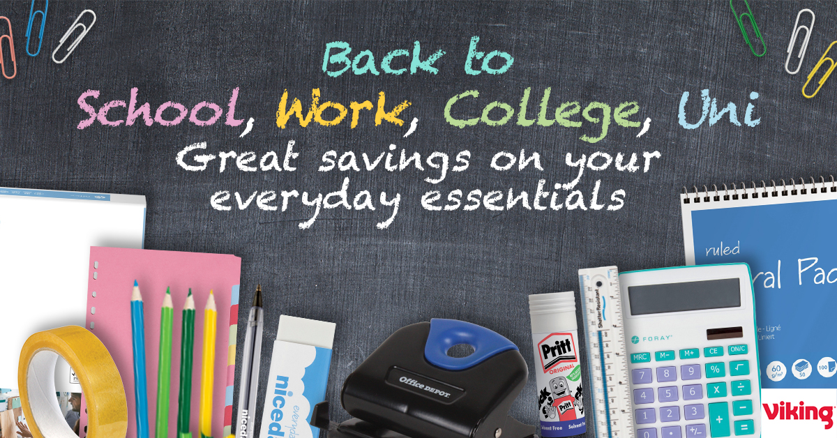 Back to School with extra member benefit from Viking