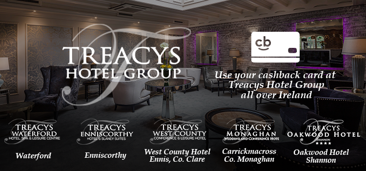 With over 40 years' experience in hospitality, it's no wonder why guests will choose to stay at a Treacys Hotel time after time. Our locations in Waterford, Wexford, Clare and Monaghan offer superior guest comfort, a family- friendly experience and personal customer service.