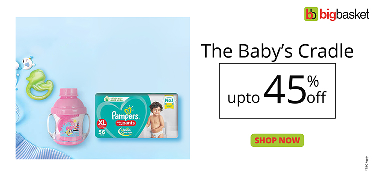 Sale on baby diapers