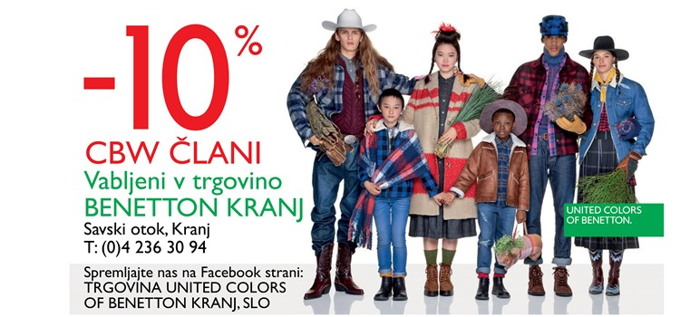 United colors of Benetton - trgovina Kranj